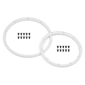 HPI Racing Wheel Bead Lock Rings White (2) HPI110545