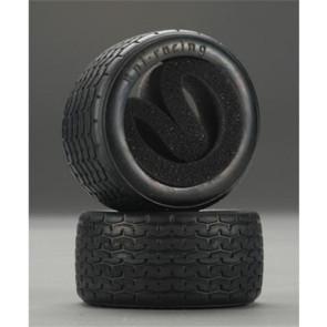 HPI Vintage Racing Tire 31mm D Compound HPI4797