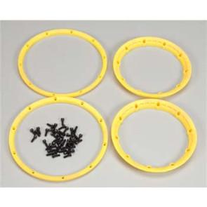 HPI Wheel Beadlock Rings Yellow (2) HPI3277