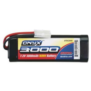 DuraTrax Onyx 6C 7.2V 3000mAh NiMH Stick Battery with Standard Plug DTXC2055