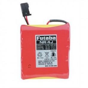 Futaba NR4J NiCd Flat 4.8V 600mAh J Receiver Battery FUTNR4J