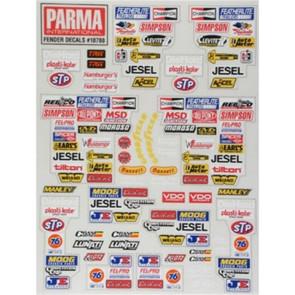 Parma Stock Car Fender Decal PAR10788