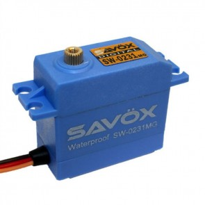 Savox Waterproof Standard Digital Servo .15/208 SAVSW0231MG