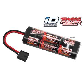 Traxxas 3000mAh 8.4V 7C Hump NiMH with Auto Battery iD TRA2926X