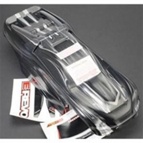 Traxxas E-Revo ProGraphix 1/10 Monster Truck Body Black Silver TRA5611X