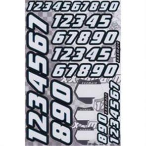 XXX Main Racing Race Number Decals XXXN002