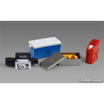 Pro-Line Scale Accessory 1 (Cooler w/Cover, Winch Top, & Tow Strap) PRO60400